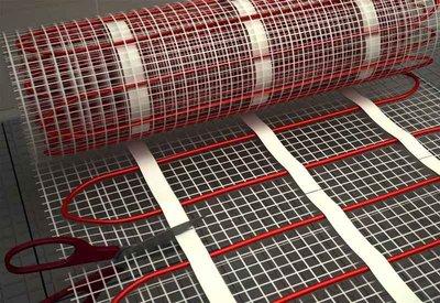 Vloerverwarming mat