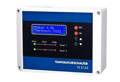 Temperatuur-schakelaar 2 sensors