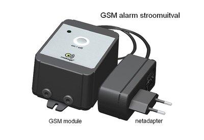 GSM alarm stroomuitval