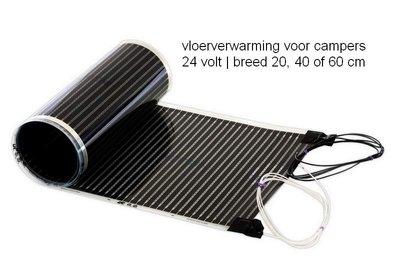 Camper-vloerverwarming