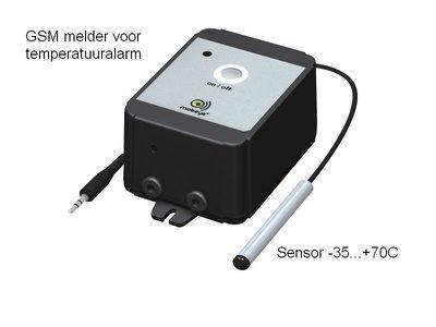 GSM Alarm-temperatuur