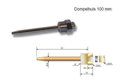 Dompelhuls 100 mm