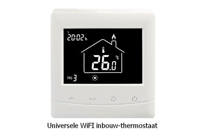 Inbouwthermostaat | WiFi