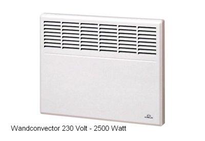 Convector 2500 Watt