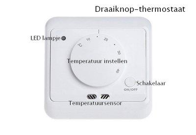 Draaiknop-thermostaat