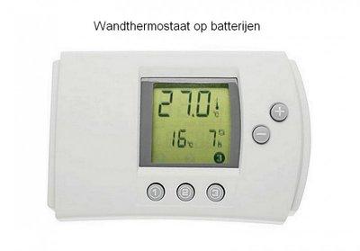 Thermostaat batterijgevoed